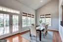 Rear Solarium w/French Doors to Covered Porch - 20353 TANAGER PL, LEESBURG