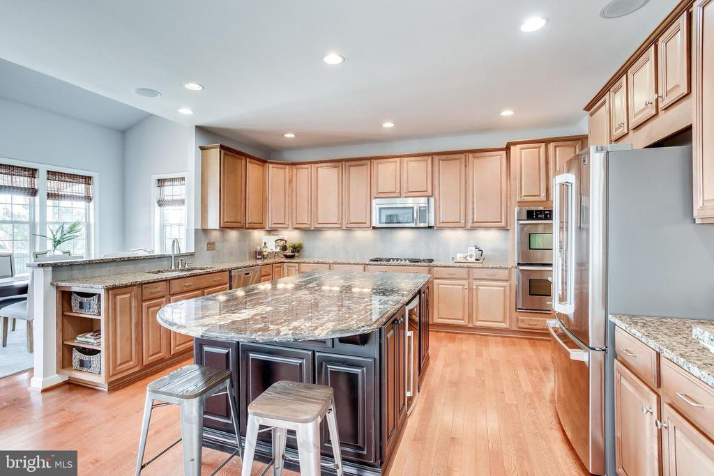 Renovated Gourmet Kitchen w/Contrasting Granite - 20353 TANAGER PL, LEESBURG