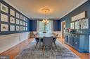 Wainscoting as well. - 33 GRISTMILL DR, STAFFORD