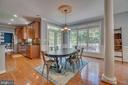 Easy access to the large deck for entertaining - 33 GRISTMILL DR, STAFFORD