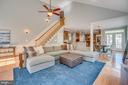 2nd staircase to upper level - 33 GRISTMILL DR, STAFFORD
