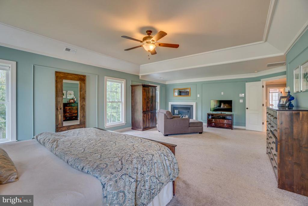 2 walk in closets - 33 GRISTMILL DR, STAFFORD