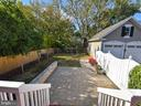 Rear Patio - 311 GREAT FALLS RD, ROCKVILLE