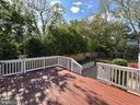 Rear Deck - 311 GREAT FALLS RD, ROCKVILLE