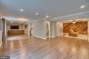 Still there's more.  Refinished Lower level - 33 GRISTMILL DR, STAFFORD
