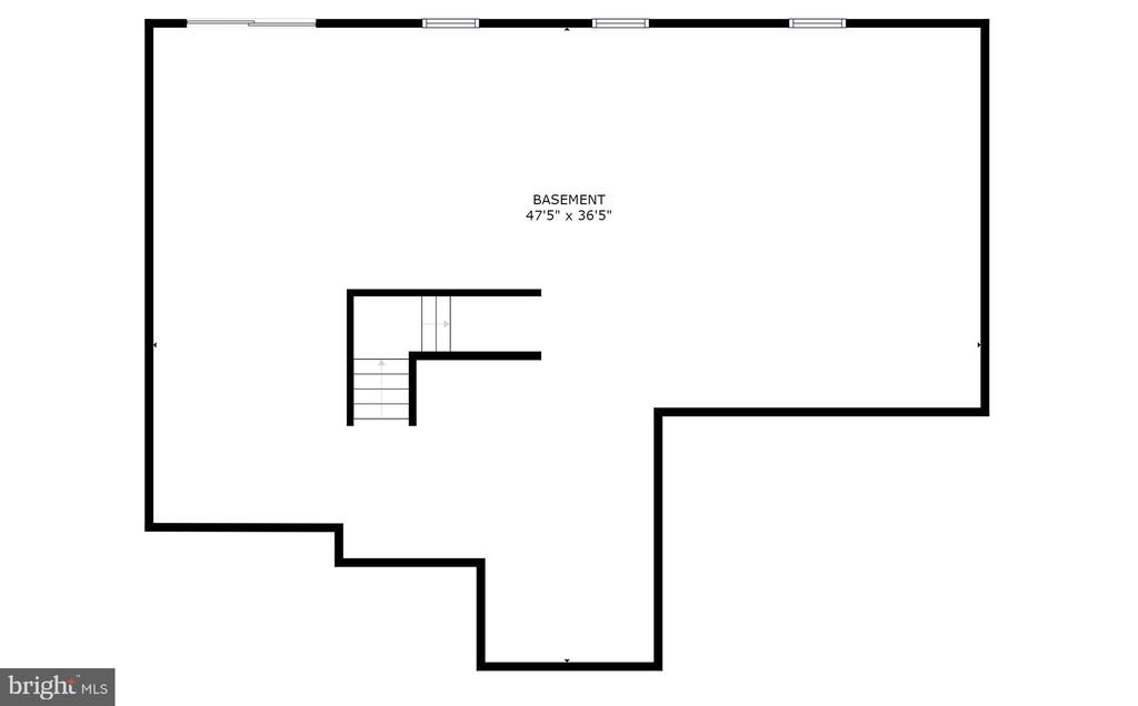 Lower level floorplan - 709 TONQUIN PL NE, LEESBURG