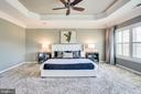 Master Suite w/ Tray Ceiling, Plantation Shutters - 20353 TANAGER PL, LEESBURG