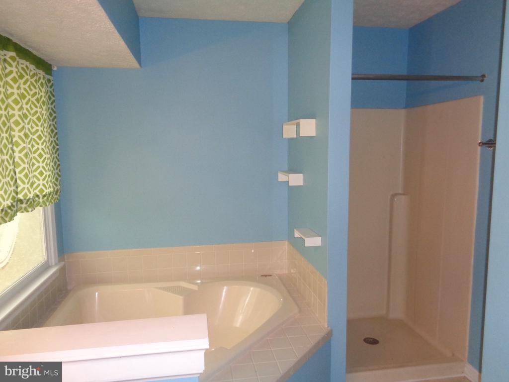 Master Bath.  Separate Shower - 11111 STOCKADE DR, SPOTSYLVANIA