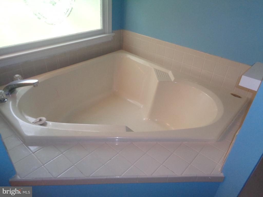 Relax In The Master Bath Soaking Tub - 11111 STOCKADE DR, SPOTSYLVANIA