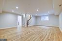 Great Rec Room Area, Play Room.. perhaps Man Cave? - 9506 SEMINOLE ST, SILVER SPRING