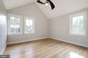 Cathedral Ceilings in 2nd & 3rd Bedrooms - 9506 SEMINOLE ST, SILVER SPRING