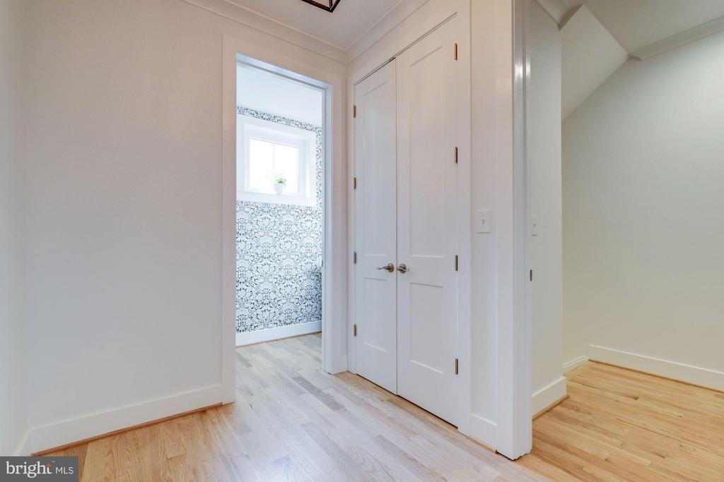 And Main Level Powder Room - 9506 SEMINOLE ST, SILVER SPRING