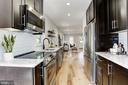 Kitchen with quartz counters - 112 S BARTON ST, ARLINGTON