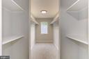 Upper level walk in closet - 112 S BARTON ST, ARLINGTON