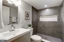 Lower level full bath - 112 S BARTON ST, ARLINGTON