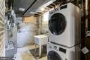 Lower level laundry - 112 S BARTON ST, ARLINGTON