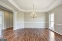 Separate Dining Room - 14300 DOWDEN DOWNS DR, HAYMARKET