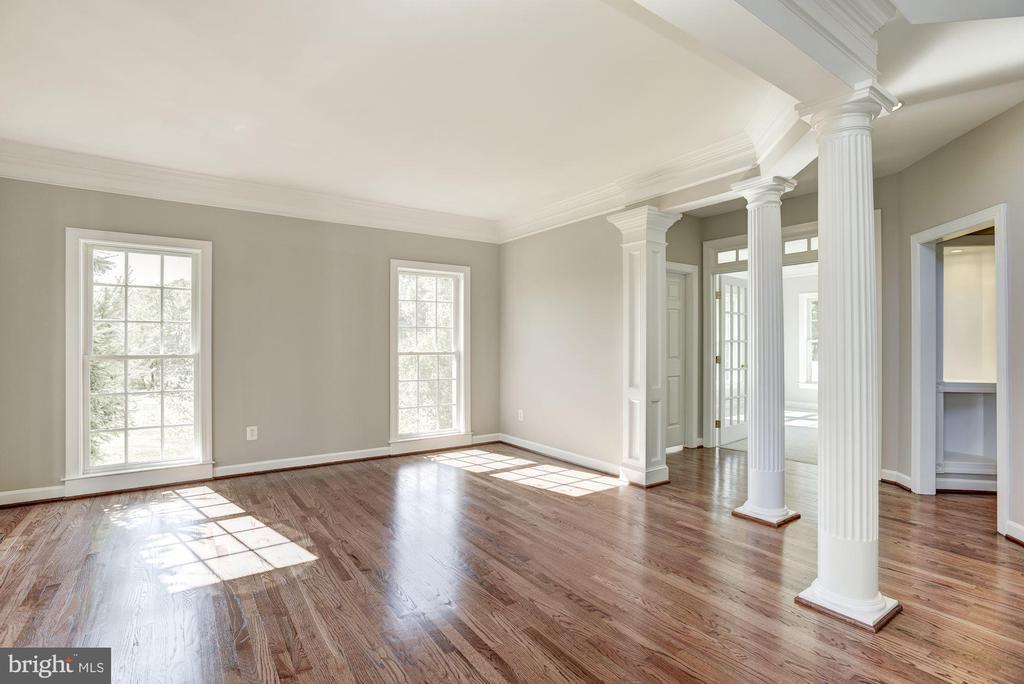 Separate Living Room - 14300 DOWDEN DOWNS DR, HAYMARKET