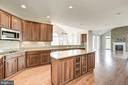 Kitchen Island with all new Stainless Appliances - 14300 DOWDEN DOWNS DR, HAYMARKET