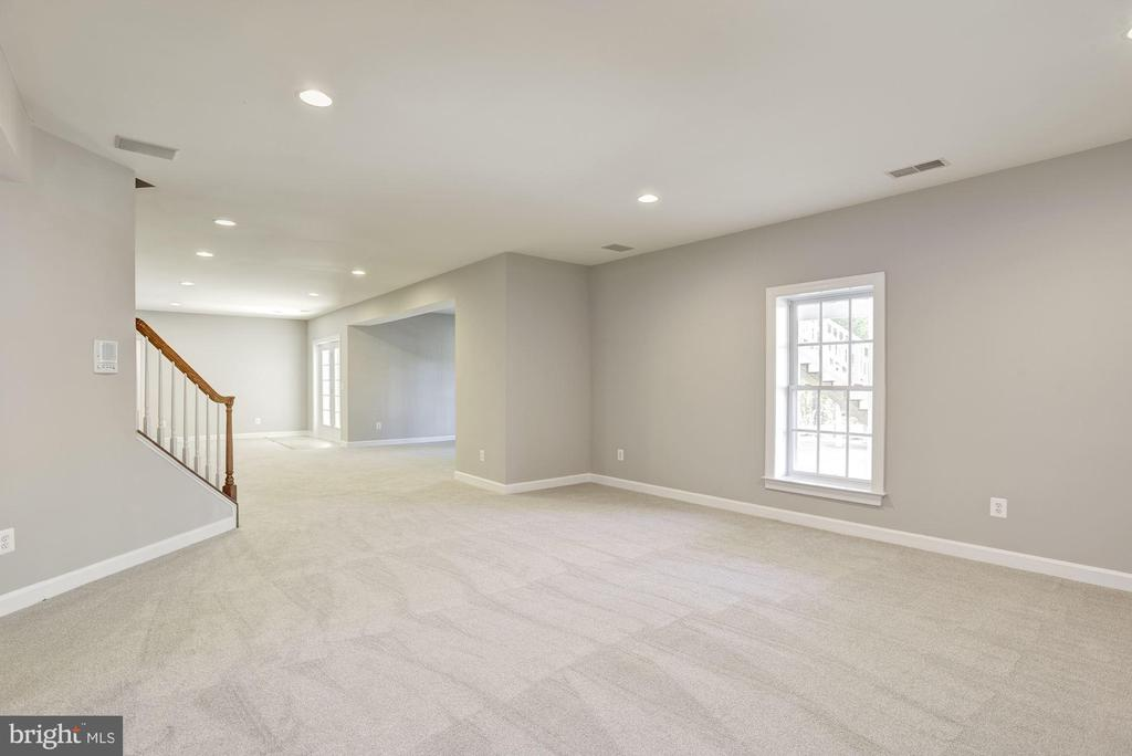 Basement Family Room - 14300 DOWDEN DOWNS DR, HAYMARKET
