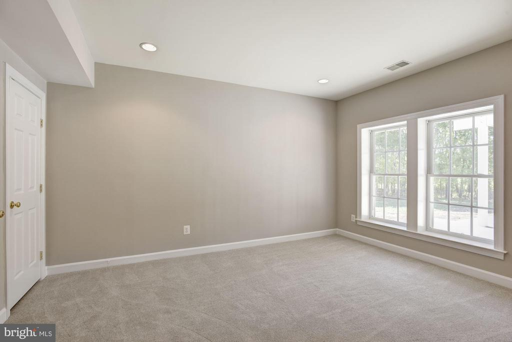 Basement possible 5th bedroom with full bath - 14300 DOWDEN DOWNS DR, HAYMARKET