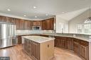 Large Kitchen with Granite tops - 14300 DOWDEN DOWNS DR, HAYMARKET