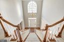 Front Staircase to Upper Level - 14300 DOWDEN DOWNS DR, HAYMARKET