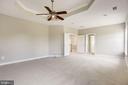 Master Bedroom with luxury bath - 14300 DOWDEN DOWNS DR, HAYMARKET