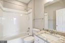 Full Bath Bedroom number two - 14300 DOWDEN DOWNS DR, HAYMARKET