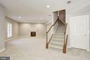Basement Level Family Room - 14300 DOWDEN DOWNS DR, HAYMARKET