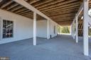 Below Deck Patio for Entertaining - 14300 DOWDEN DOWNS DR, HAYMARKET