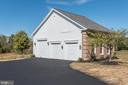 Large Detached Garage Building - 14300 DOWDEN DOWNS DR, HAYMARKET