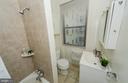 Bath features ceramic surround shower/bathtub - 3100 CONNECTICUT AVE NW #229, WASHINGTON