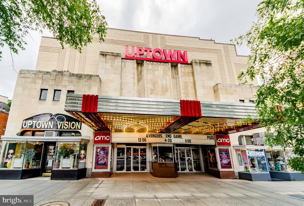 The historic Uptown Theatre - 3100 CONNECTICUT AVE NW #229, WASHINGTON