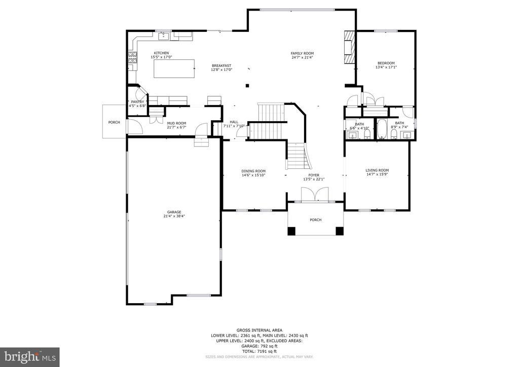 Floor Plan - 6517 HEATHER GLEN WAY, CLARKSVILLE