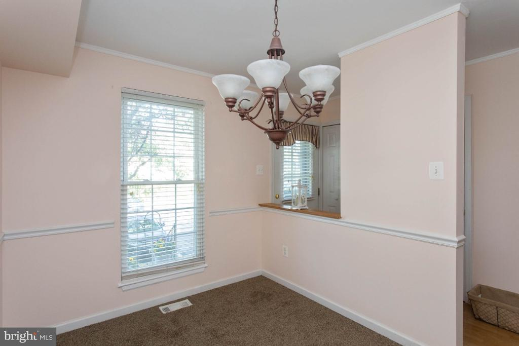 Dining Room - 6646 DUCKETTS LN #28-6, ELKRIDGE