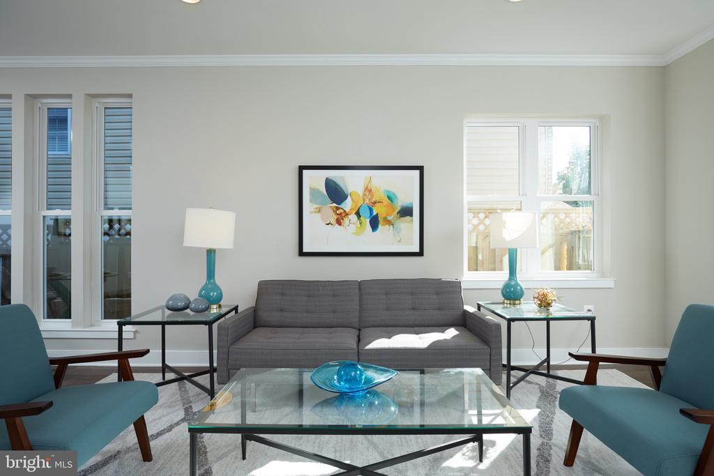 Living Room - 5132 LEE ST NE, WASHINGTON