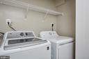 Upstairs Laundry Closet - 5132 LEE ST NE, WASHINGTON