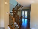 Stairs to Bedroom level - 21906 GREENTREE TER, STERLING