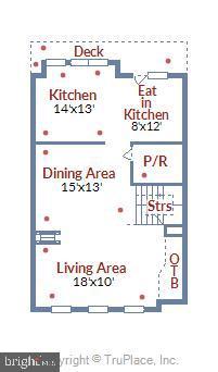 Floor 2(see dimensions) - 23504 PUBLIC HOUSE RD, CLARKSBURG