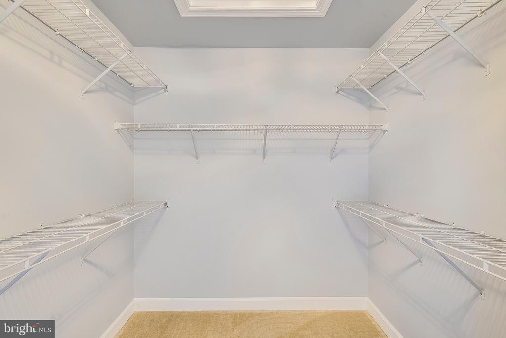Huge walk in closet - Master - 23504 PUBLIC HOUSE RD, CLARKSBURG