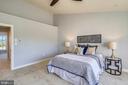 Master BRM - vaulted ceilings - 23504 PUBLIC HOUSE RD, CLARKSBURG