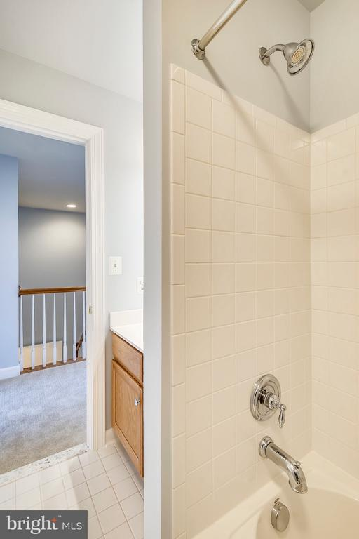 Entrance to hall bath - 23504 PUBLIC HOUSE RD, CLARKSBURG