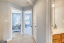 upstairs hallway - 23504 PUBLIC HOUSE RD, CLARKSBURG