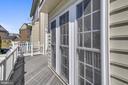 Trex deck off kitchen - 23504 PUBLIC HOUSE RD, CLARKSBURG
