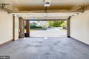 Garage open - 23504 PUBLIC HOUSE RD, CLARKSBURG