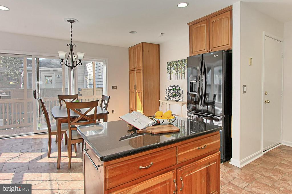 Kitchen Island is Perfect for Baking! - 2309 YVONNES WAY, DUNN LORING