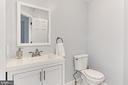 Newly Renovated Main Level 1/2 Bath - 2309 YVONNES WAY, DUNN LORING