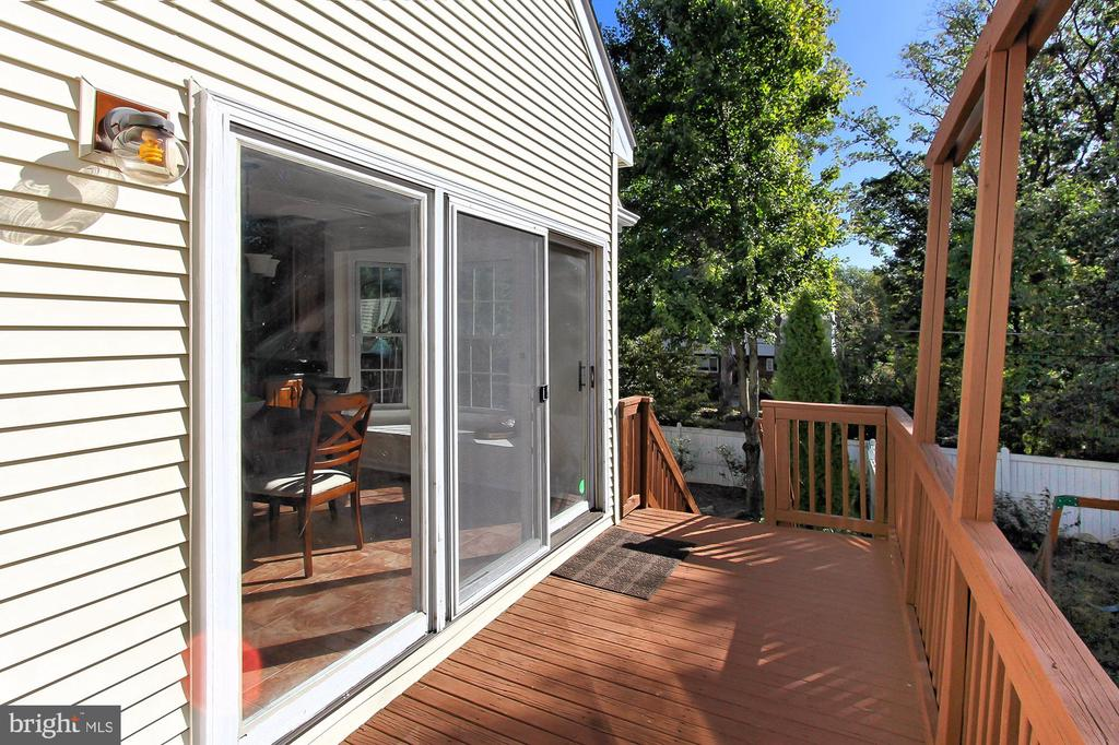 Side Deck off the Kitchen is Perfect for Grilling! - 2309 YVONNES WAY, DUNN LORING