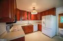Kitchen with beautiful cabinetry - 10209 WESTFORD DR, VIENNA